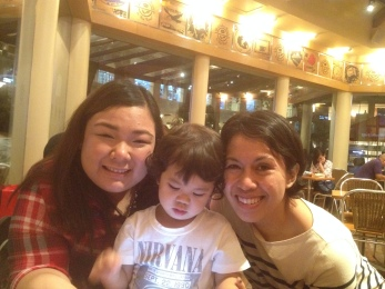After work shenanigans at Coffee Bean Alabang Town Center!