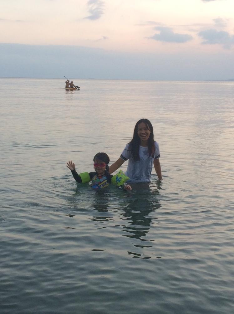 sunset_swim