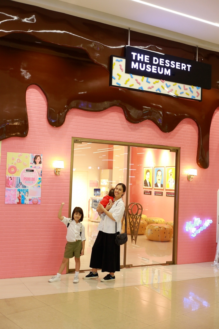 The Dessert Museum entrance at S Maison